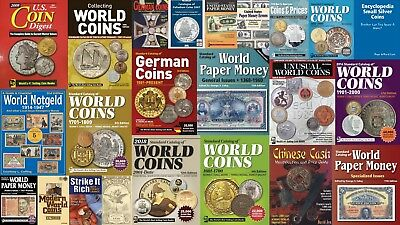 2018! 29 PDF KRAUSE Standart Catalogs World COINS Books