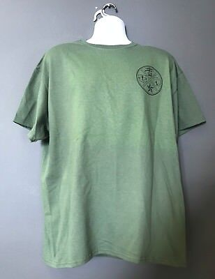 CIA Special Ops Group Ground Branch OSS Theme Morale OD Green Short Slv T-Shirt
