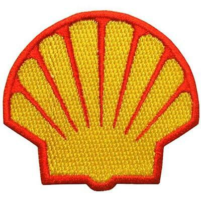 Shell Oil Gas Motorcycle Racing Nascar Motor gp Iron on Jacket Shirt Patch