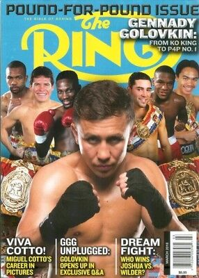 The Ring Bible Of Boxing Magazine March 2018 Floyd Mayweather Brand New