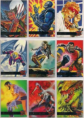 Fleer Ultra X-Men 1995 Complete 150 Card Set~NM/M~Deadpool ~Logan movie hit~ '95