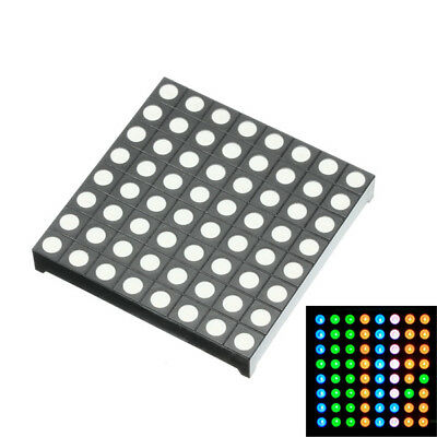 Threecolor Common Anode Rgb Led Dot Matrix Display Module Compatible Colorduino