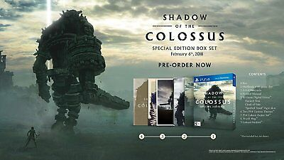 Shadow of the Colossus Special Edition - PlayStation 4 PS4 -