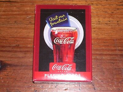 Deck of Unopen Coca-Cola Coke Playing Cards Bicycle.. Look!