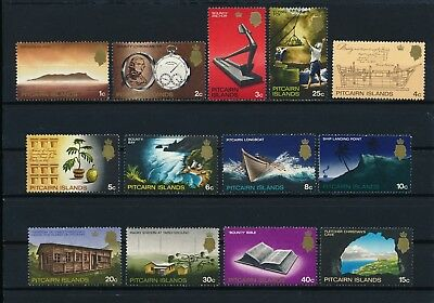 Pitcairn 97-109 MNH, The Bounty, Artifacts & History, 1969