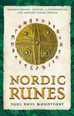 NEW Nordic Runes By Paul Rhys Mountford Paperback Free Shipping