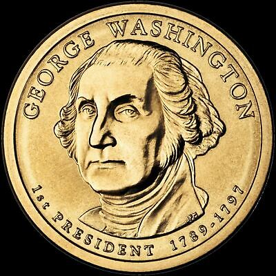 "2007-D George Washington Presidential Dollar ""Brilliant Uncirculated"" Coin"