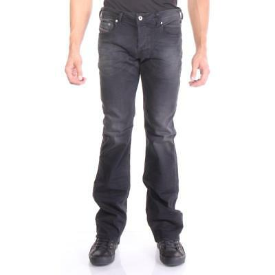 Diesel Jeans Zatiny 854A Boot Cut Men Black New