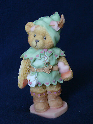 Cherished Teddies - Robin - Boy In Green Outfit And Boots Figurine - 156434