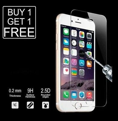 For iPhone 8 Tempered Glass Screen Protector - CRYSTAL CLEAR LK