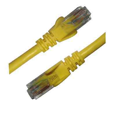 0.3M to 10M CAT6 Yellow LAN Ethernet UTP Internet Modem Network Cable Patch Lead