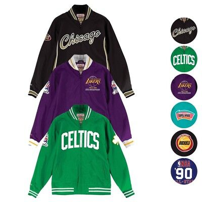 NBA Mitchell   Ness 1986-99 Team History Vintage Warm Up Jacket Collection  Men s 65b4e56f5