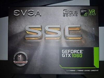 GTX GeForce 1060 SSC EVGA Graphics Card