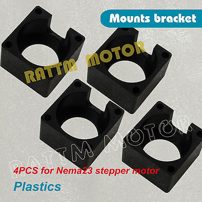 4Pcs Nema23 Stepper Motor Mount Bracket Clamp Holder for CNC Router DIY machine