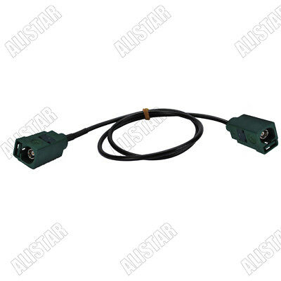 Fakra Female to Female Jack Key code E RG174 Antenna Extension Pigtail Cable