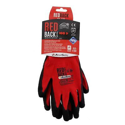 Medium Ninja Flex (Redback) Gloves High Grade Abrasion Resistance Breathable