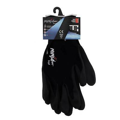 Ninja Glove P4001 Extra Large Seamless 15 Gauge Nylon Shell Feather Light Safety
