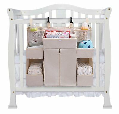 Vencer Nursery Waterproof Organizer and Baby Diaper Caddy