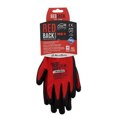 XSmall Ninja Flex (Redback) Gloves 15 Gauge Breathable Nylong Maximum Comfort