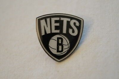 NBA - Basketball - Hard to Find - Badge - Pin - New Jersey Nets