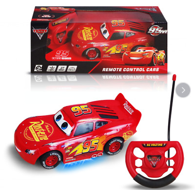 15Cm Disney Pixar Lightning Mcqueen Radio Remote Control Car Rc Vehicle Kids Toy