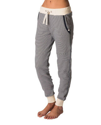 Rip curl Ladies Surf Threads Trackpant Fleece Cuff Trousers Trackies 6 10 12 14