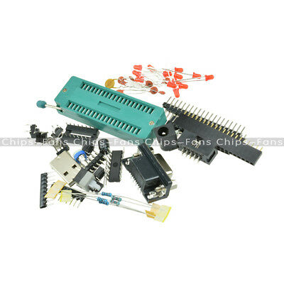 C51 AVR MCU Development Board DIY Learning Board Kit Parts And Components New
