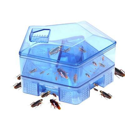 Insect Bug Trap Catcher Cockroach Ant Bed Bug Flea Pest Control Tool Killer Box