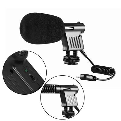 BOYA BY-VM01 Directional Video Condenser Microphone for Camera DSLR Camcorder NI