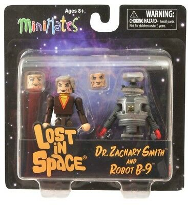 MINIMATES Lost In Space Dr Smith & B9 2-Pack *BRAND NEW*