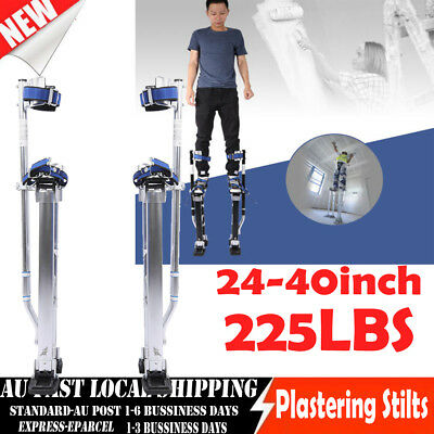 24-4inch Plastering Stilts Large Size Aluminum Drywall Builders 225LBS