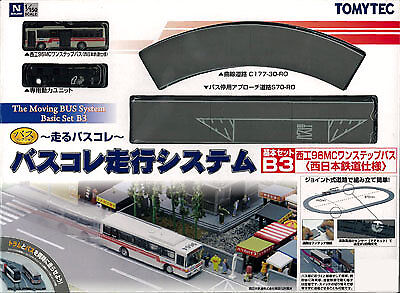Tomytec Bus Collection Running System Basic Set B3 (West Japan Railways Style)