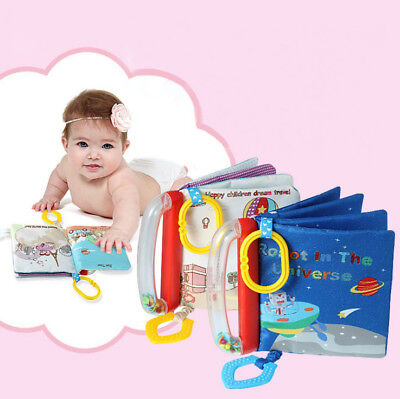 Intelligence development Cloth Bed Cognize Book Educational Toy for Kid BabyHot