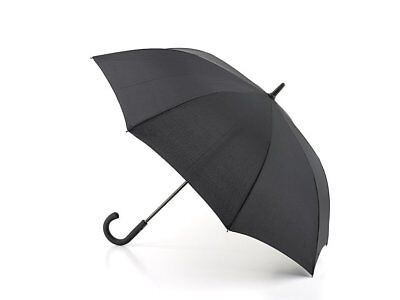 Ex Sample- Fulton Knightsbridge Walking Umbrella in Black - Windproof Automatic