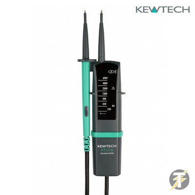 Kewtech KT1710 2 Pole Voltage and Continuity Tester with clear LED indication