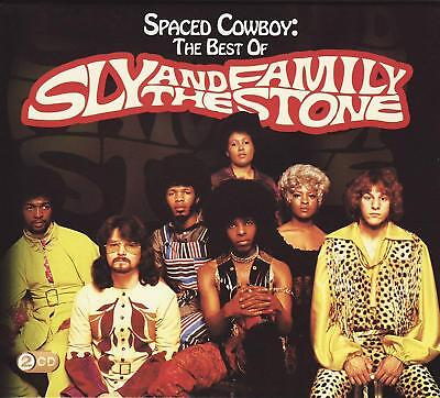 Sly And The Family Stone ‎– Spaced Cowboy The Best Of 2Cd