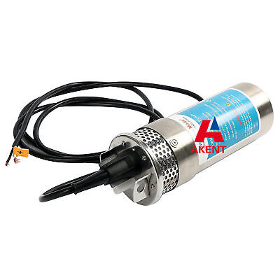 DC12V 24V Stainless Shell pump Submersible Deep Well Water DC Pump 12LPM/3.2GPM