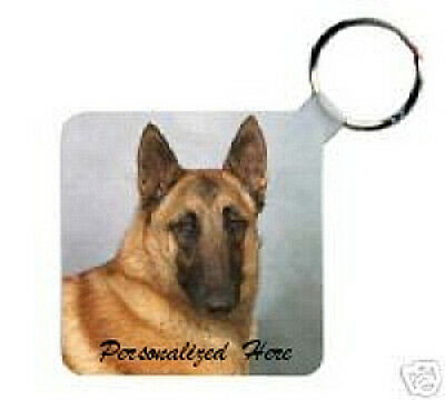Belgian Malinois    Personalized   Breed  Key  Chain