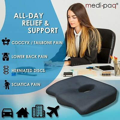 Office Chair, Coccyx Cushion, Instant Relief from Pain and Discomfort