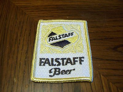 Vintage Falstaff  Beer Patch  (Put On )  Shirt Jacket Hat
