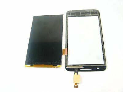 Black~Touch Screen & LCD Display for Alcatel OneTouch Mpop M'Pop OT-5020