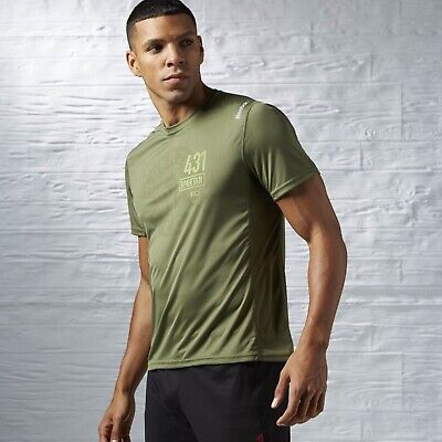New Men's REEBOK CROSSFIT SPARTAN TECH TEE - AI1971