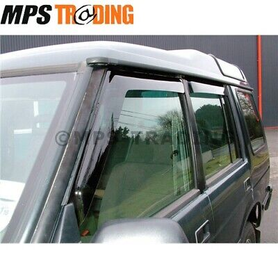 Land Rover Discovery 1 (1989-1998) Front & Rear Wind Deflector Set - Da6070