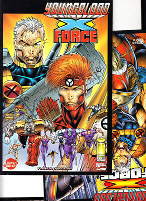 YOUNGBLOOD / X-FORCE ( 2  nºs COMPLETA ) IMAGE PLANETA.