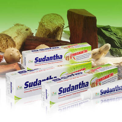 Herbal toothpaste SUDANTHA total oral care/natural 120g NON FLUORIDE AYURVEDA