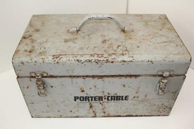 Porter Cable Heavy Duty Porta-Plane Model 126 With Metal Case