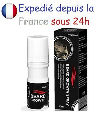 Spray barbe - Accélérateur de pousse- lotion fertilisant - Beard Sray growth up