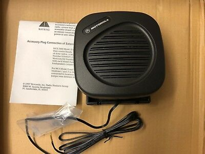 US ARMY Motorola HSN 4024 C External Radio Speaker Funk Lautsprecher MCS 2000