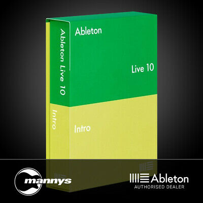 Ableton Live 10 Intro Music Production Software