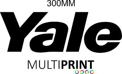 YALE Forklift Sticker - Forklift Truck - Spare Parts - FREE POST YAL2